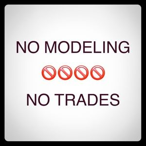 Other - No trades and no modeling